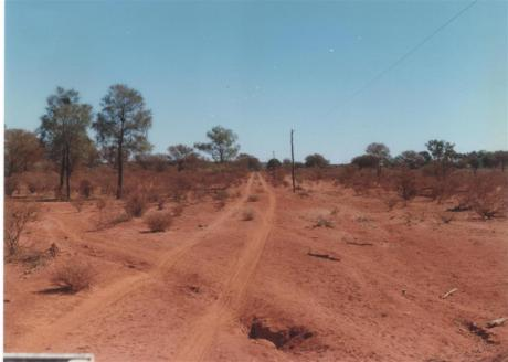 Party line between Kilcowera Station and Zenonie, Outback Queensland.