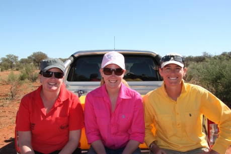 Friends at Kilcowera Station, Outback Queensland
